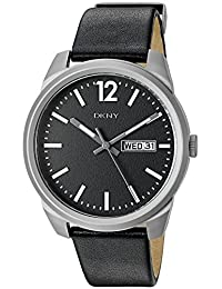 DKNY Men's NY2446 Bryant Park Analog Display Japanese Quartz Black Watch