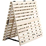 すのこマット すのこベッド 2つ折り式 桐仕様(シングル)【Coh-ソーン-】 ベッド 折りたたみ 折り畳み すのこベッド 桐 すのこ 二つ折り 木製 湿気