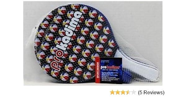 Amazon.com : Pro Kadima Paddle Ball Set- Beach Ball Design ...