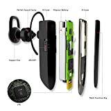 wisdomspot BT621B Wireless and Hands-Free Bluetooth Headset – Black