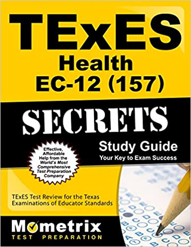 Texes health ec-12 (157) secrets study guide: texes test review for t….