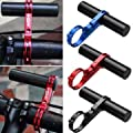 Bike Holder - Bikight Cycling Handlebar Lamp Bracket Holder Mount Extension - Root Word Radical Riser Terminal Carbon Fiber Super Saver Adaptor Aluminium Adapter Flexible Easy - 1PCs