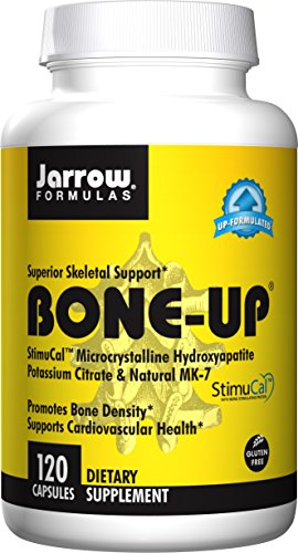 Jarrow Formulas Bone Up, Promotes Bone Density, 120 Caps (Foods Density Bone)