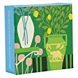 Modern Botanicals Mini FlipTop Notecards with Magnetic Closure, greeting cards for all occasions