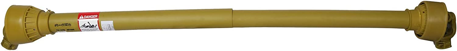 WilTec Heavy Duty PTO Shaft 34.9mm 6 Teeth 1 3//8 1270mm Length for Commercial Vehicles with 55HP