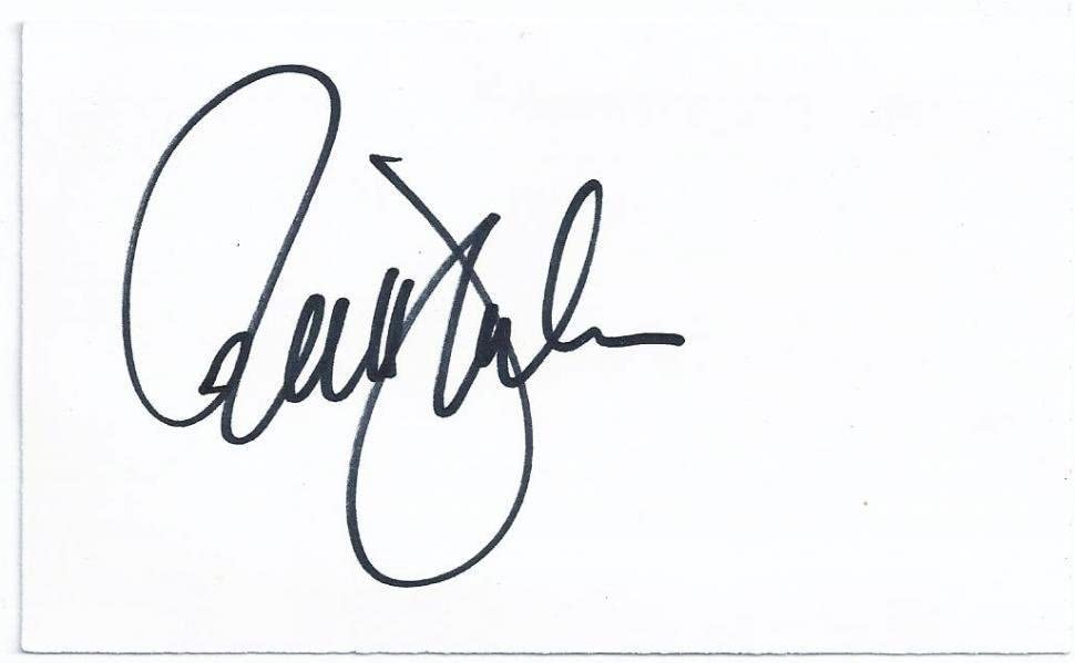 B00DPUDHZM 1986 New York Mets Ron Darling Signed Autograph 3x5 Index Card TOUGH TD 51bnZAYov5L