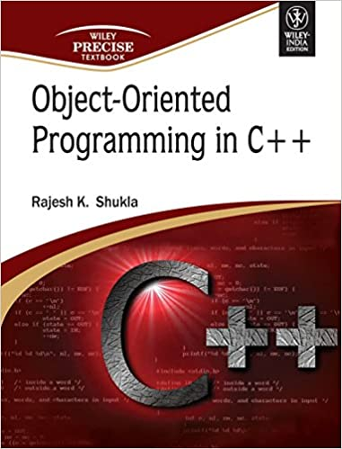 Amazon com: Object- Oriented Programming In C++ (9788126516582