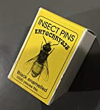 Insect Mounting Pins Box of 1000 Pins- 10 packs of Size 5