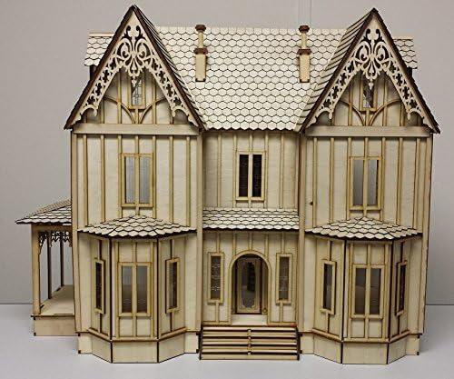 2 Dollhouse Miniature Unfinished Metal Mustard Jar
