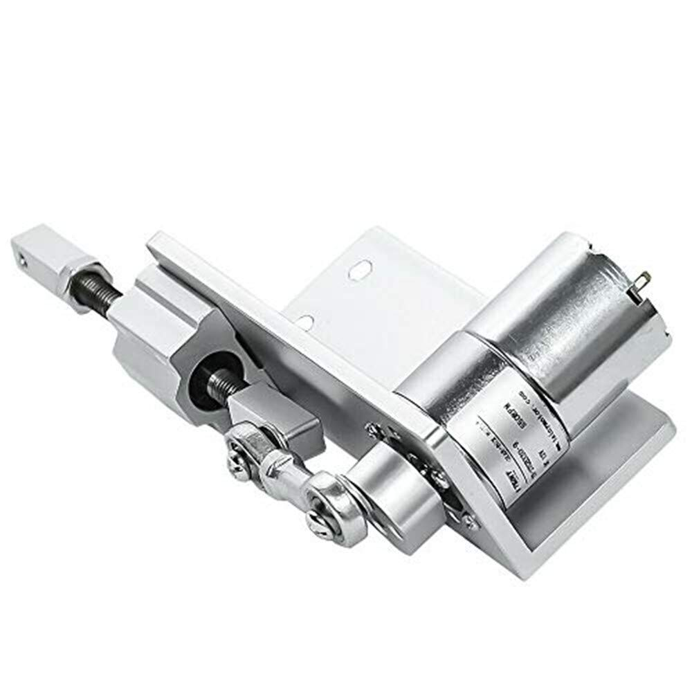 Cycling Electric Linear Motion Actuator Reciprocating Motor DC 12V 100Rpm Stroke 12mm 16mm 20mm