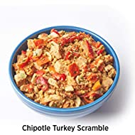 Elements Meals | Chipotle Turkey Scramble | Single Serve | Healthy Freeze Dried Meals | Delicious, Backpacking and Camping Food | Paleo Friendly