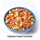 Elements Meals | Chipotle Turkey Scramble | 10-Pack | Healthy Freeze Dried Meals | Paleo-Friendly | Delicious, Backpacking and Camping Food | High Protein | Just Add Water