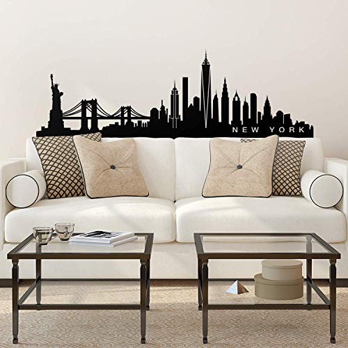Vinyl Wall Art Decal - New York Skyline - 20