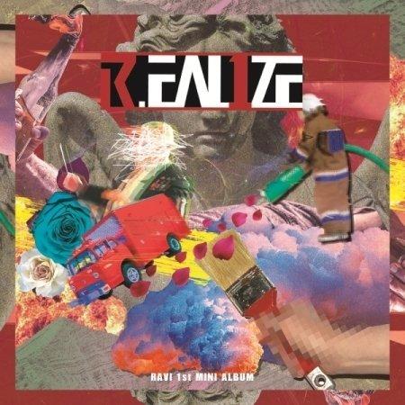 VIXX RAVI - [R.EAL1ZE] 1st Mini Album CD+48p Booklet +1p PhotoCard K-POP SEALED