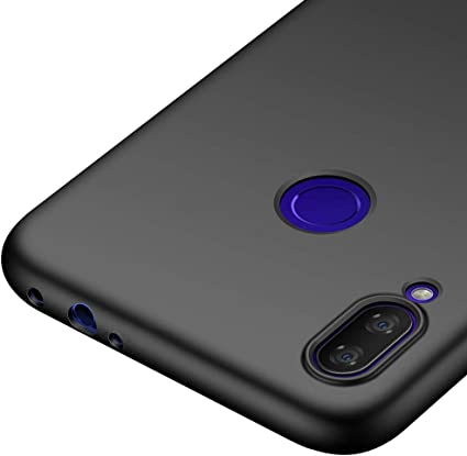 Richgle Funda Xiaomi Redmi Note 7, Negro Ultra Slim Protectora ...