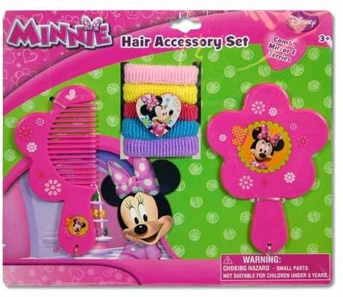 Minnie Mouse Comb Mirror Ponies
