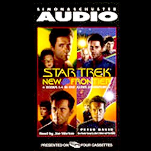 Star Trek, New Frontier: Books 1-4 by Simon & Schuster Audio