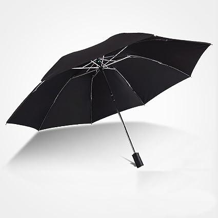YaToy Paraguas Invertido Doble Capa, Paraguas Plegables ...