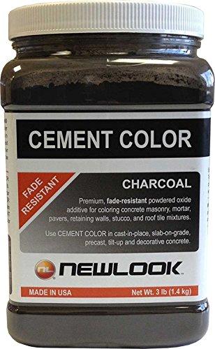 CEMENT COLOR 3 lb. Charcoal Fade Resistant Cement Color (Mix For Concrete Patio)