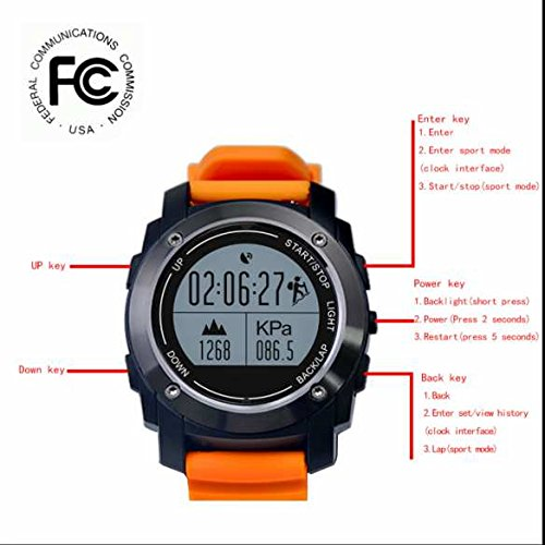 S928 Smart Watch, GPS Sport Smart Reloj, portátil Bluetooth ...