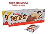 #6: Kinder Cards - 10 Cards (5x2) 128g (PK of 2 (10 cards per pack))