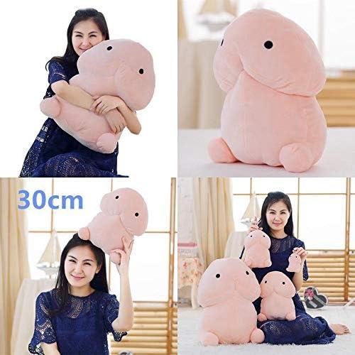 1Pcs Cute Plush Penis Toy Doll Soft Stuffed Simulation Penis Sofa Couch Decor