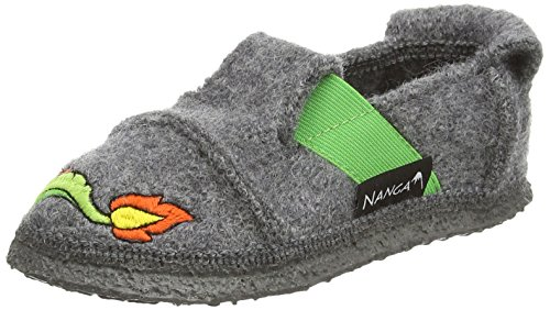 NangaDragonheart - pantuflas Niños Gris - Grau (Grau 64)