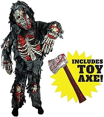 JIAENY Disfraz Spooktacular Creations Zombie Deluxe para Niño con ...