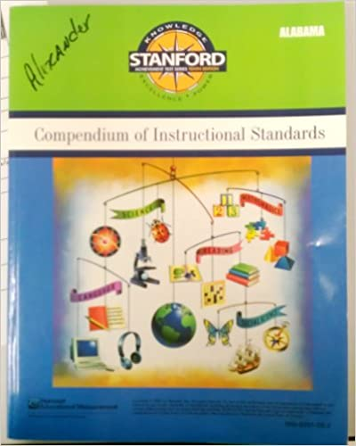 Book Compendium of Instructional Standards Forms A/D (Stanford Achievement Test Series Tenth Edition)