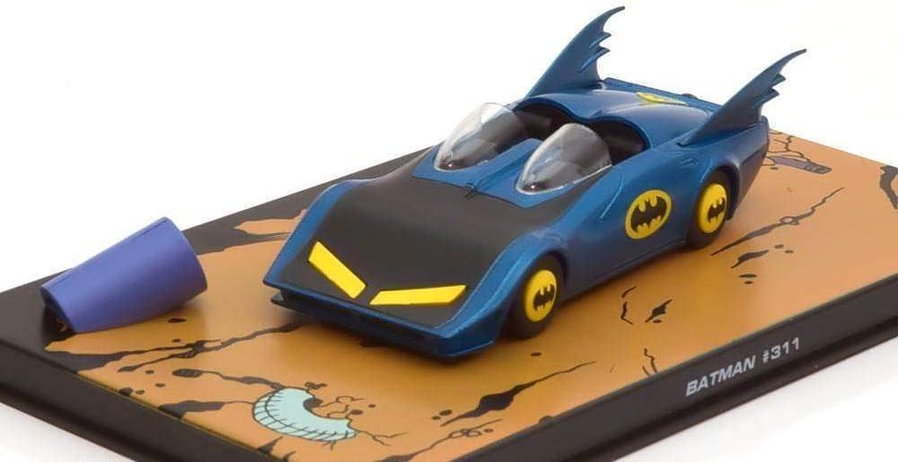 La Batmobile de Batman Comics #311-1//43 Eaglemoss Voiture Model Car 010
