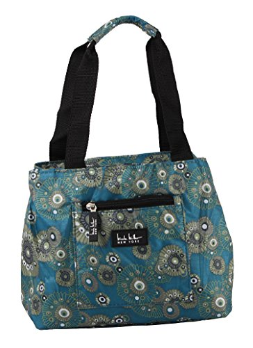 Nicole Miller Insulated 11 Lunch Tote (Blue (Womens Small Lunch Tote)
