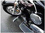 vulcan 900 freeway bars - MC Enterprises Deluxe Hi-Way Bars - Alligator Pegs 4249