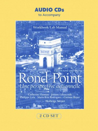 Rond Point Workbook/Lab Manual: Edition Nord-Americaine
