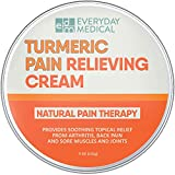 Everyday Medical Turmeric Pain Relief Cream I Advanced Curcumin Pain Relief and Joint