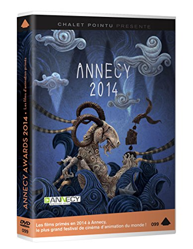 Annecy Awards 2014 (12 Short Films) ( An Adventurous Afternoon / Foreign Bodies (Corps étrangers) / Absent Minded (La testa tra le nuvole) / Hasta Santia [ NON-USA FORMAT, PAL, Reg.0 Import - France ] ()