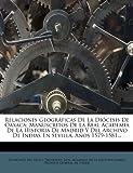 Relaciones Geográficas de la Diócesis de Oaxaca, , 1275348777