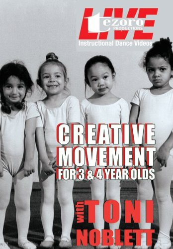 Live at Broadway Dance Center: Creative Movements for 3 and 4 Year Olds With Toni Noblett