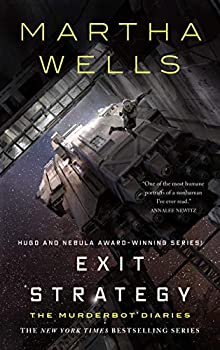 Exit Strategy by Martha Wells science fiction book reviews