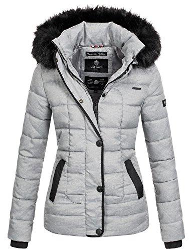 Trapuntata Invernale Grau Marikoo Giacca Calda Donna Da B391 q4xRRvIwnP