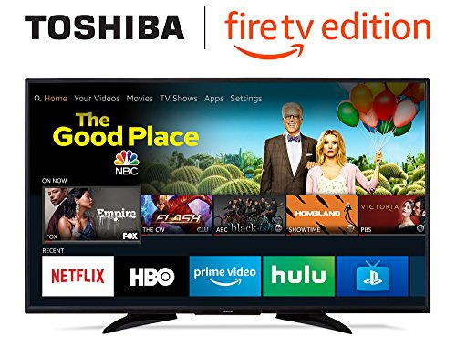 Toshiba 55LF621U19 55-inch 4K Ultra HD Smart LED TV HDR - Fire TV Edition from Toshiba