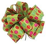 Berwick GFS008-09050-C036 Red/Green Satin Ribbon