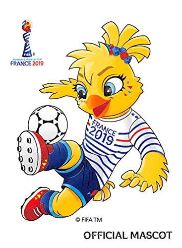 - 2019 Panini FIFA Women's World Cup France Sticker #3 Official Mascot Mini (Small) Sticker Trading Card