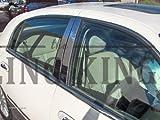 1998-2011 Lincoln Town Car Chrome Pillar Post Set 4-Piece