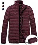 FASTORM'S GOOSE DOWN JACKET - TAKE IT TO LIGHTEN YOUR WINTER AND BEAT OFF CHILLS This Outdoor Warm Ultralight Weight Packable Short Down Outwear Puffer Jacket for Mens and adults is padded with White Duck Down and 100% Nylon. Make you warm &a...