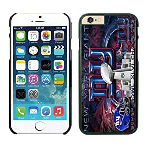 NFL iPhone 6 Plus 5.5 Inches Case New York Giants Black iPhone 6 Plus Cell Phone Case ONXTWKHC2895