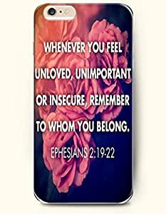 Case Cover For Apple Iphone 5C Hard Case **NEW** Case with the Design of Whenever you feel unloved,unimportant or insecure,remember to whom you belong. Ephesians 2:19-22 - Case for iPhone Case Cover For Apple Iphone 5C (2014) Verizon, AT&T Sprint, T-mobile