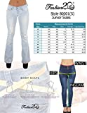 The Sexy Flare Bootleg Ripped Premium Bootcut Women