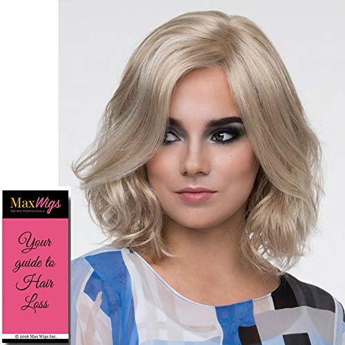 """Chloe Wig Color DARK RED - Envy Wigs 10.5"""" Collar Length Wavy Classic Bob Layers Synthetic Lace Front Monofilament Part Women"""