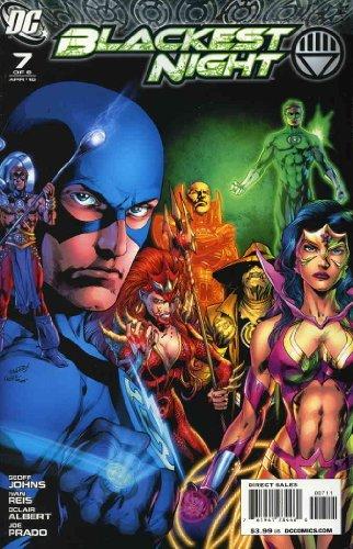 Blackest Night #7 VF/NM ; DC comic