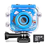 Best Camcorders For Kids - Waterproof Kids Camera Camcorder 12MP HD Kids Action Review
